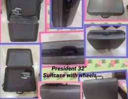 "President 30"" suitcase"