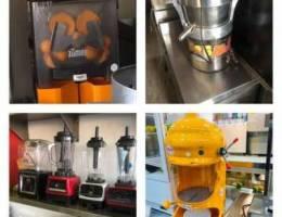 mojito maker and orange Juice maker