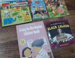 Colorful kids books