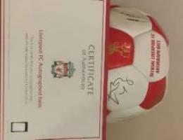 Liverpool FC Autograped (incluisve of cert...