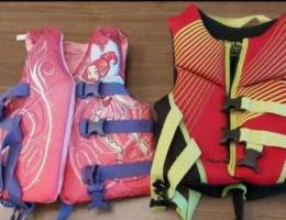 Deluxe Life vests for kids (2 pieces) 30 t...