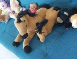 Teddy bears, horses and all other small an...
