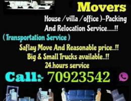 Moving shifting packing carpentry service