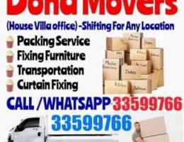 Carpenter & Movers transportation