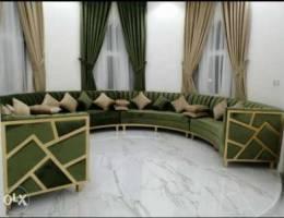 Sofa majlis New Make & Clothes change avai...