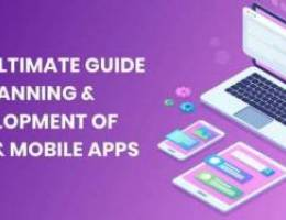 we develop mobile app and web app for you
