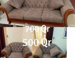 living room sofa set / طقم جلوس غرفة معيشة