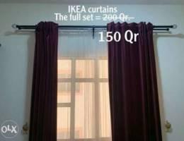 IKEA 2 curtains sets / ٢ ستارة