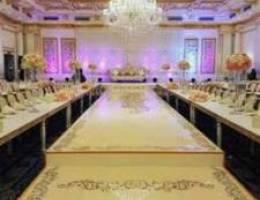 تجهيز حفلات الزفاف وجميع المناسبات