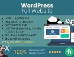 WE design and develop a responsive wordpre...