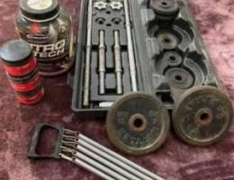 ادوات لياقة بدنية للبيع